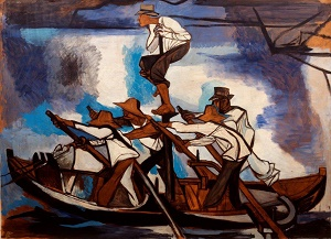 Renato Guttuso, La pesca del pesce spada, 1949