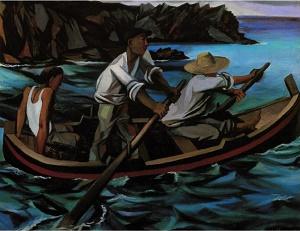 Renato Guttuso, Uscita per la pesca