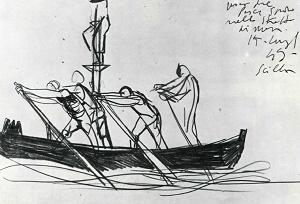 Renato Guttuso, Caccia al pescespada